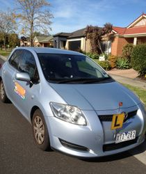Driving School Camberwell VIC 3124 - Toyota Corolla Hatch - Automatic