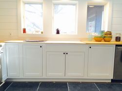 Solid White Inset Shaker Doors