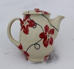 Clematis Tea Pot