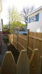 Completed Privacy Fence Image 5