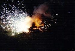 1993 A classic car engine farewell