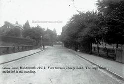Grove Lane, Handsworth, c1909.