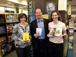 New Friends:  Laura Beth, David Pollay & Carrie Scheiner!!!