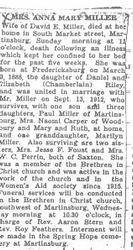 Miller, Anna M. Riley 1935