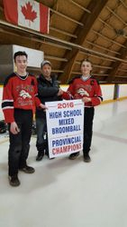 Stallions accept Championship Banner