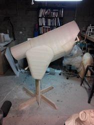 Packaging foam body