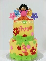 Dora the explorer cake 1