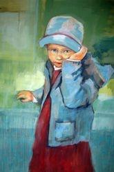 """""""Amelia et son petit chapeau bleu"""""""