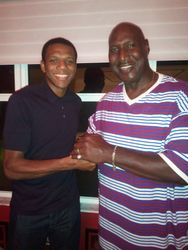 Darryl and Miami Heats James Jones.