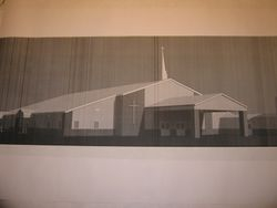 Picture of the new church