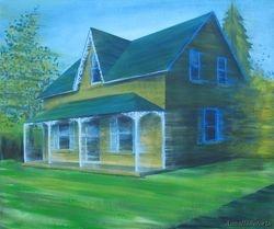 Single Family Home: Farmhouse Gothic