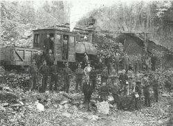 Iron Ore Mining Crew on Tussey Mountain