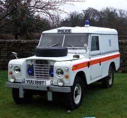 1979 Police Landrover