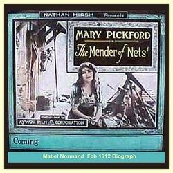 1912 MENDER OF NETS