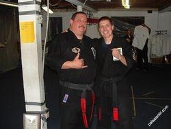 Frank Trejo and Pat Salantri (CEO IKKA)