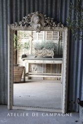 SOLD #24/225A  French Mirror Louis XVI Lady 1 SOLD