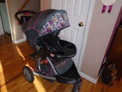 Baby Trend Range Jogging Stroller - $60