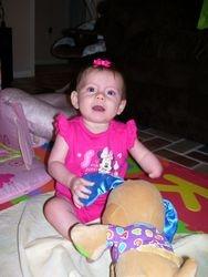 Addie Sitting Up