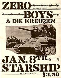 1983-01-08 Starship, Milwaukee, WI