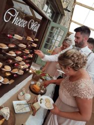 Guests loving our cheese Wall