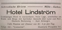 Hotell Lindstrom 1926