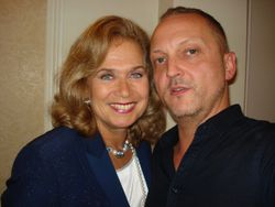 With the ever-gorgeous Valerie Leon