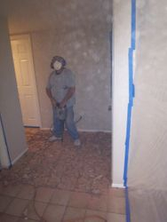 Tile removal (Before)
