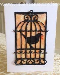 Baby Wipe Background - Birdcage