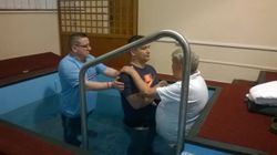 Baptism of Carl