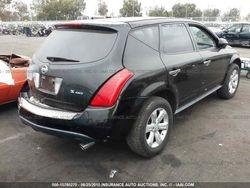 2007 NISSAN MURANO 3.5L V6 AWD BLACK