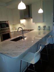 Modern Kitchen-White cabinets