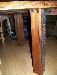 split cedar legs