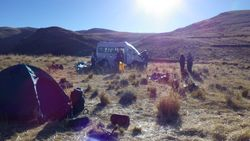 Camping in the Sacred Valley!