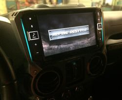 "2014 Wrangler Alpine 9"" Restyle JL Stealthbox"