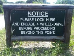 Notice for vehicles
