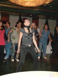 Tatyana, dancing at Nile Maxim