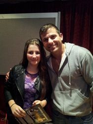 Amber Yearsley meets WWE Matt Striker
