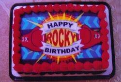 The M.A.P.S. Team felt a birthday cake