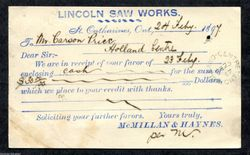 Lincoln Saw Works