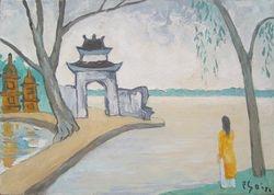 Tran Quoc Pagoda, 1986