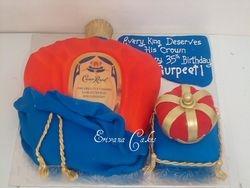 Crown royal cake(SP142)