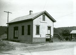 Railroad Depot and Post Office