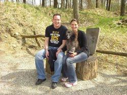Marc, Rania und ich