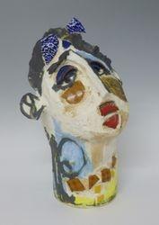 Mary Jones Ceramics.  Daisy chains.  SOLD
