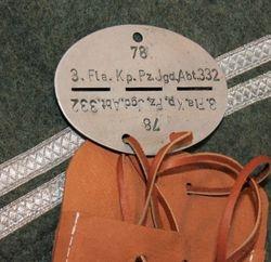 J. Niemitz, 3.(Flak) Ko. Pzjgr-Abt 332: