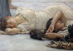 Alma Tadema, The Women of Amphissa, Williamstown