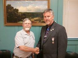 Virginia Division Commander Pullen at July Meeting