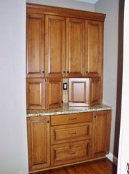 Stained Butler's Pantry