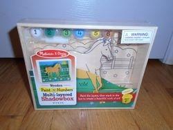 Melissa & Doug Paint By Numbers Horse Shadowbox- BNIB - $10
