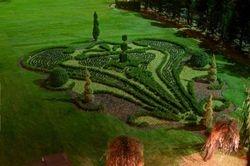 Left Parterre Garden inspired by Versailles
